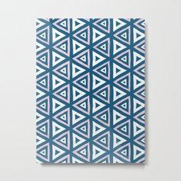 Trianguillity Metal Print