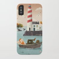 lighthouse iPhone & iPod Cases featuring Lighthouse by Seaside Spirit