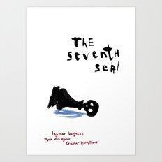 the seventh seal Art Print