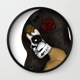 The Day Of The Dead Girl Wall Clock