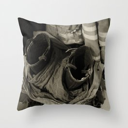 stepped out  Throw Pillow