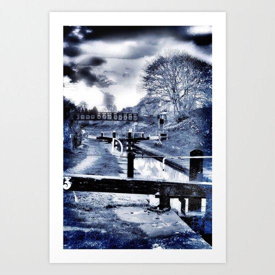 Canal Evenings Art Print