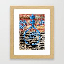 Rope Norovirus Guns Framed Art Print