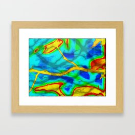 The Branch Bold Abstract Framed Art Print
