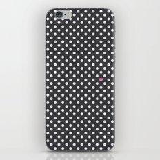 Polka Dots Walls iPhone & iPod Skin