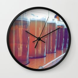Tip It Back Wall Clock