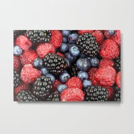 Berry Good! Metal Print
