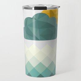 Sea Polygons Travel Mug