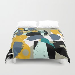 Mid-Century Abstract Duvet Cover