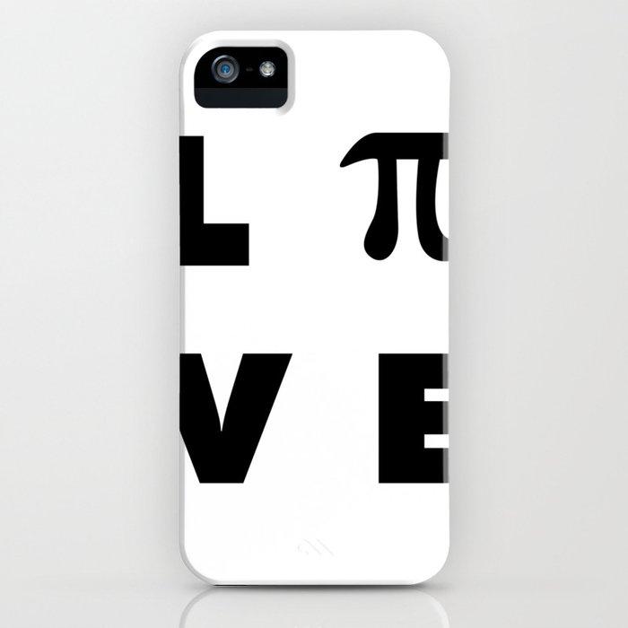Love Pi iPhone Case