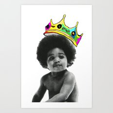 baby big Art Print