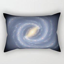 R Hurt - Artistic Representation of the Milky Way (2013) Rectangular Pillow