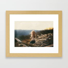 Into the wild.  Framed Art Print