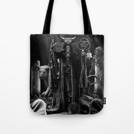V. The Hierophant Tarot Card Illustration  Tote Bag