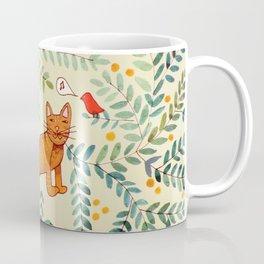 minou jaune (this yellow cat) Coffee Mug