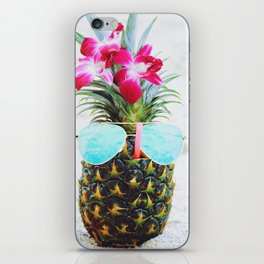 Pineapple Sunglasses iPhone Skin
