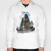 marina Hoodies featuring Marina Towers by Tyler Hewitt