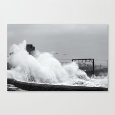 Up an Over Canvas Print