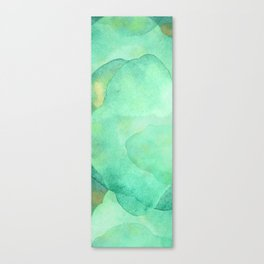 Abstract Jade Waters  Canvas Print