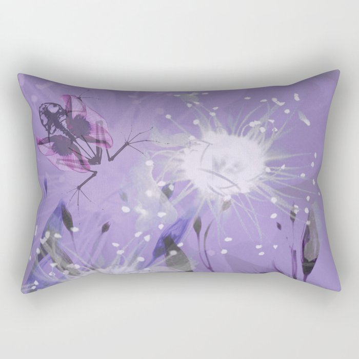 fairy frog Rectangular Pillow