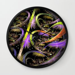 Chaos in Universe Wall Clock