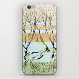 withered tree iPhone Skin
