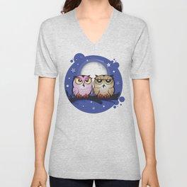 Night Owls Unisex V-Neck