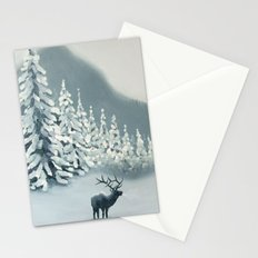 Colorado Snow Stationery Cards