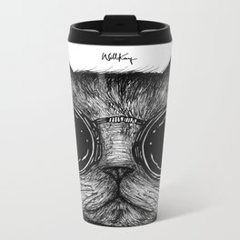 Amici Cool Cat  Metal Travel Mug