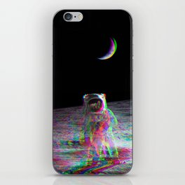 COLORFUL MOONS iPhone Skin