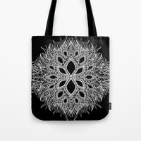 plants Tote Bags featuring plants by Ichsjah