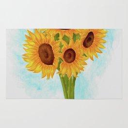 'Sunflowers' Rug