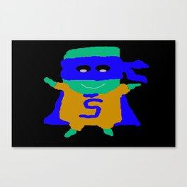 Super Spam 3 Canvas Print