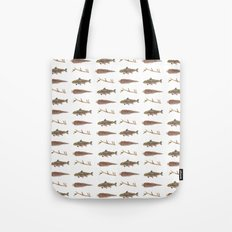 Fur Feather & Fin Tote Bag