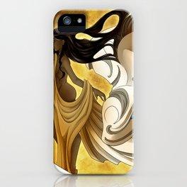 Hina and Faaravaianu iPhone Case