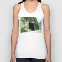 john snow Tank Tops featuring Snow Shed by NoelleB