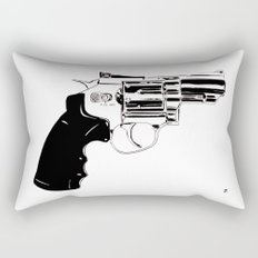 Gun #27 Rectangular Pillow