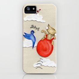 Bouncy Kitteh! iPhone Case