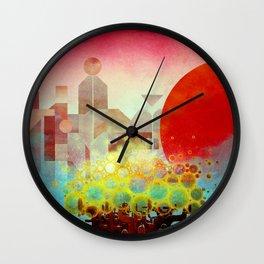 Aerials Wall Clock