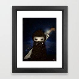 Spirit Warrior Framed Art Print