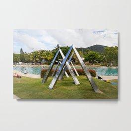 Airlie Beach- Lagoon Metal Print