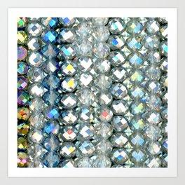 Crystal Bands Art Print