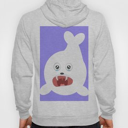 Seal is crying Hoody