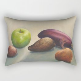 Still life, autumnal tones Rectangular Pillow