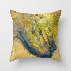 Falling/Flying Throw Pillow