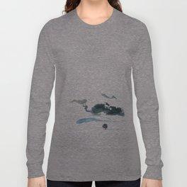 snowy winter Long Sleeve T-shirt
