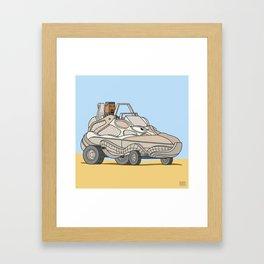 Desert Rat Buggy Framed Art Print