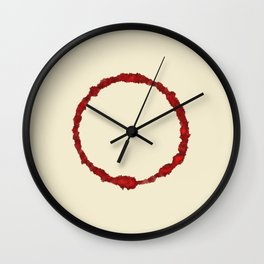 ink circle Wall Clock
