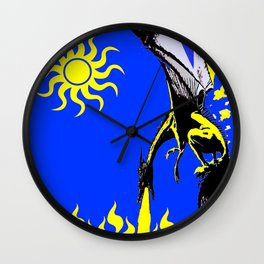 The Day of the Dragon Wall Clock
