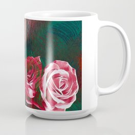 Roses Digital Art By Annie Zeno Coffee Mug